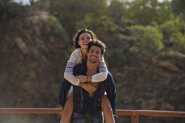 Cauã Reymond e Ísis Valverde, o Leandro e a Antônia de Amores Roubados  (Estevam Avellar/Tv Globo)
