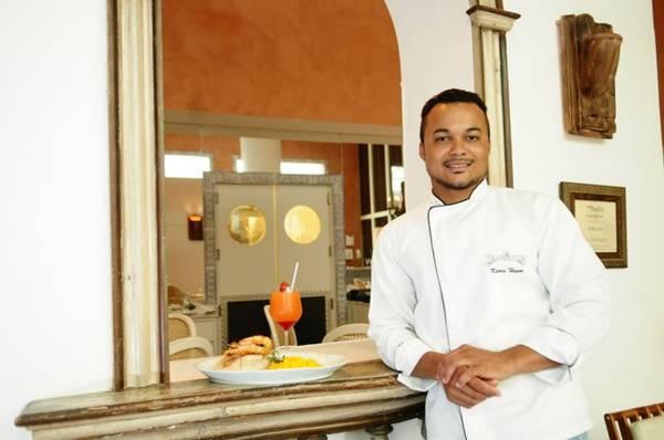 Kenis Henon, chef do La Tambouille: democracia em meio à alta gastronomia (Bruno Peres/CB/D.A Press)