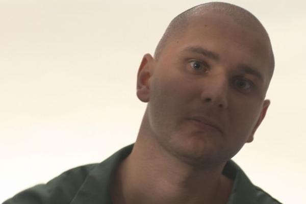 Ator Maksim Gelman, do filme Palavra de Assassino (A&E/Divulgação)