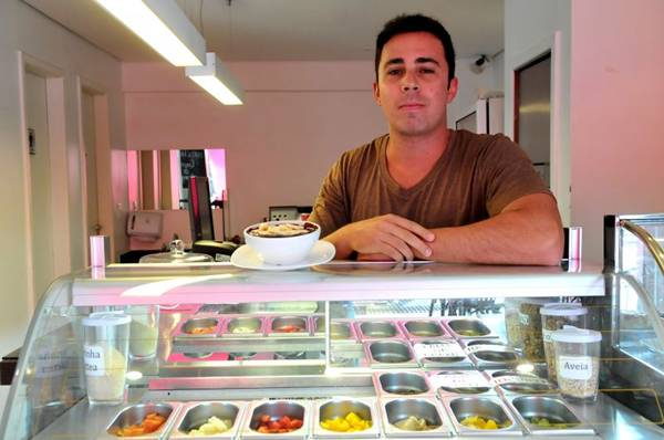 Thiago Lombardi: incentivo ao consumo de sucos funcionais no dia a dia (Marcelo Ferreira/CB/D.A Press)