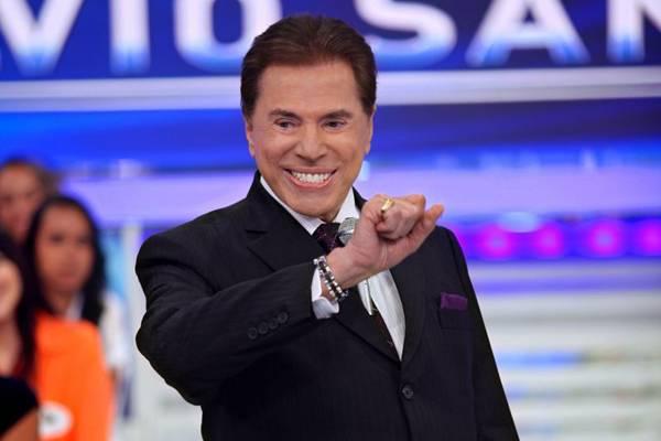 Bem humorado e carismático: Silvio Santos é o principal nome dos domingos da tevê brasileira (SBT/Divulgação)
