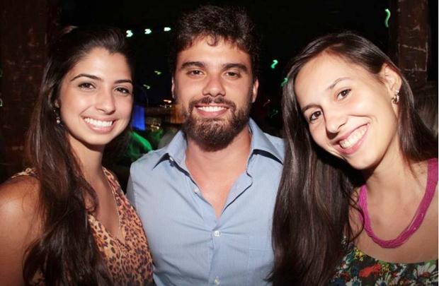 Barbara Moreira, Pedro Thuin e Leticia Morais (Lula Lopes/Esp. CB/D.A Press)