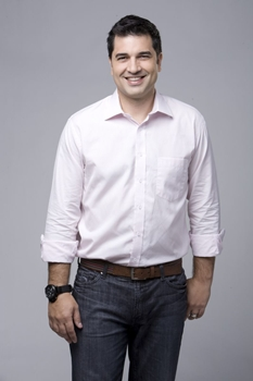 O chef de cozinha Edu Guede faz parte do elenco de apresentadores do programa (Edu Moraes/Record)