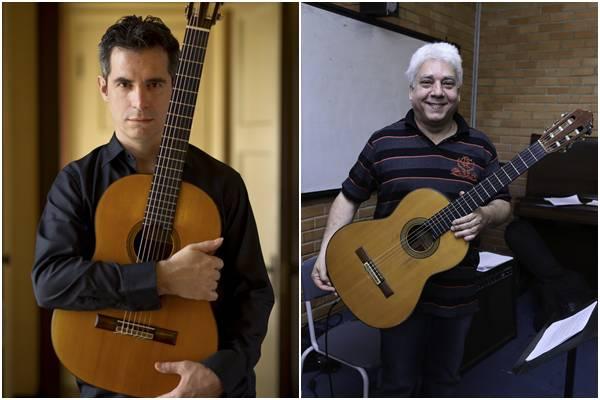 Leonardo Bravo e Lula Galvão  se apresentam em concertos nesta quarta-feira  (Luh Fiuza/Civebra/Divulgação )