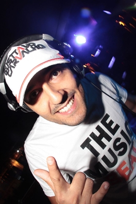 DJ Gustavo Carvalho (Lula Lopes/Esp. CB/D.A Press)