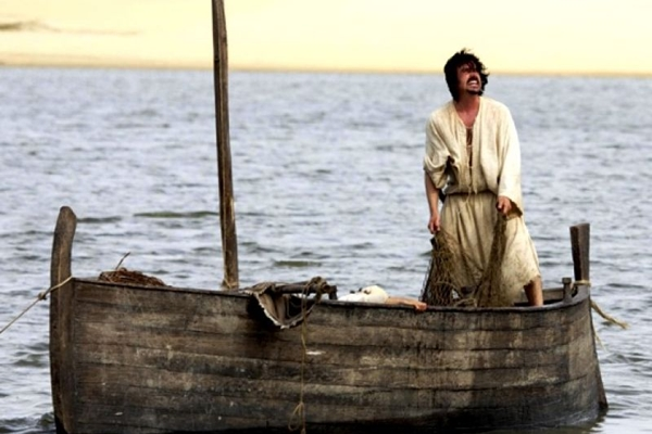 Cena da série Milagres de Jesus, da Record  (Record/Divulgação)