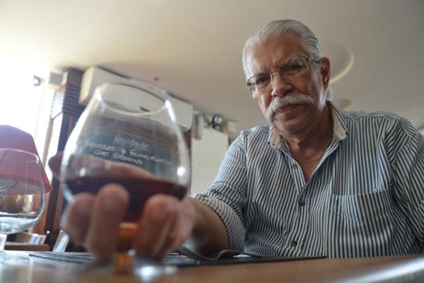 Antonio Duarte é o presidente da Associação Brasileira de Sommeliers.  (Gustavo Moreno/CB/D.A Press)