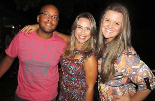 Luis Fernando Vilanova, Renata Larissa Pontes e Fernanda Piccioni (Alexandra Paiani Tondolo/Divulgação)