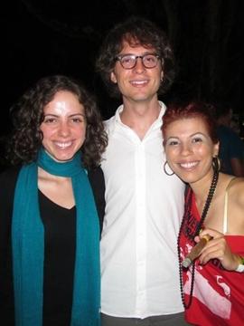 Hanise Silva, Ricardo Ribeiro e Karina Santiago (Alexandra Paiani Tondolo/Divulgação)