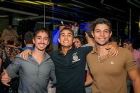Lucas Zamboni, Ricardo Augusto e Ricardo Diniz (Felipe Menezes/Divulgação)