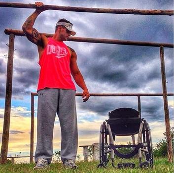 ''A esperança vê o invisível, sente o intocável e alcança o impossível'', escreveu atleta na legenda (Instagram/Divulgação)