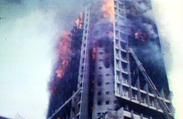 O incêndio traumatizou o país à época (TV Globo/Divulgação)