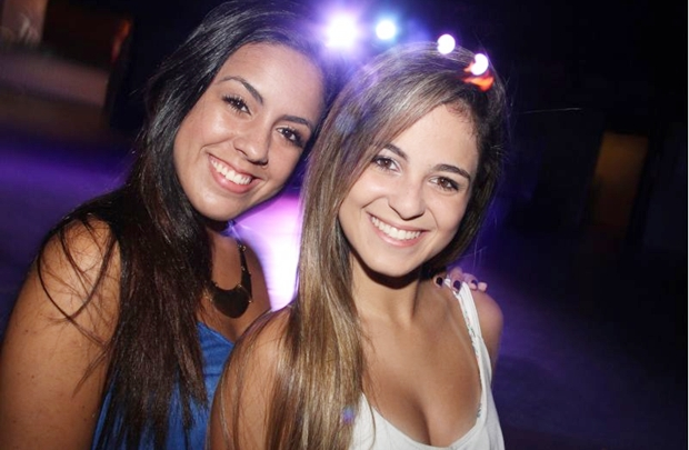 Lorena Lima e Jade Silva estiveram em mais uma edição do Deu Samba (Lula Lopes/Esp. CB/D.A Press)