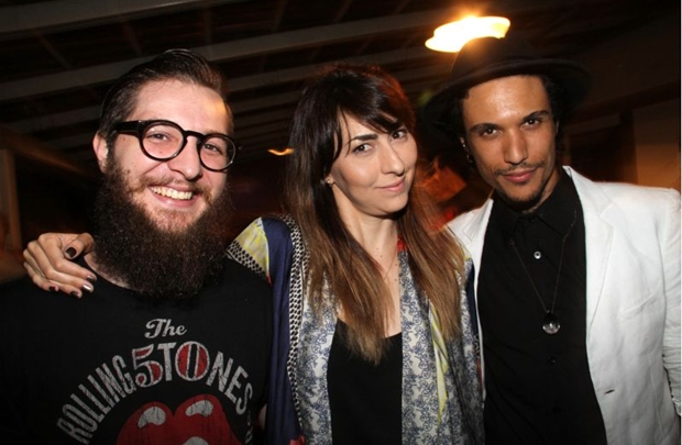 Lucas Marin, Dannie Hope e Paulo Fonte (Lula Lopes/Esp. CB/D.A Press)