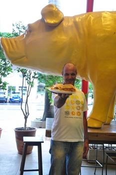 Paulo Mello aposta em pratos com jeito de comida caseira (Paula Rafiza/Esp. CB/D.A Press)