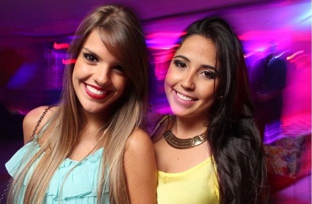 Kamila Queiroga e Nathalia Oliveira (Lula Lopes/Esp. CB/D.A Press)