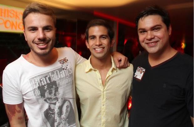 Miguel Marinho, Gabriel Lira e Vinicius Matteo (Lula Lopes/Esp. CB/D.A Press)