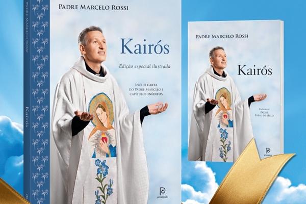 Livro Kairós, com autoria do padre Marcelo Rossi (Divulgação )