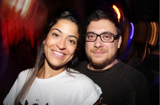 Caroline Vieira e Luiz Alexandre Garcia (Lula Lopes/Esp. CB/D.A Press)
