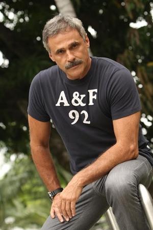Oscar Magrini, que irá participar de 'O Caçador', próxima série policial da Globo  ( Pedro Paulo Figueiredo/CZN)