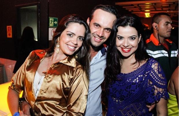 Renata Castro, Leonardo Grangeiro e Rochana Brandão (Rômulo Juracy/Divulgação)
