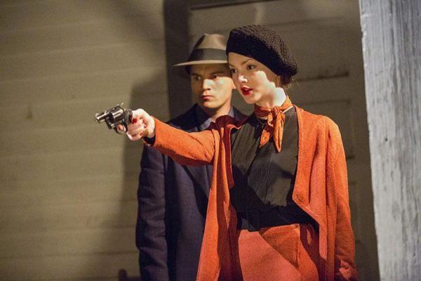 Imagens da série Bonnie & Clyde ( History Channel/Divulgação)