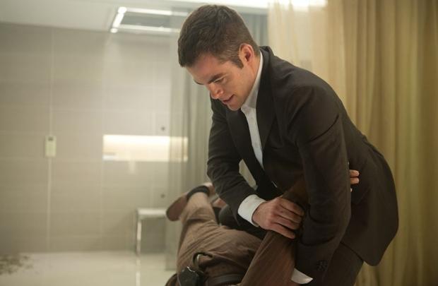 Chris Pine se repete ao viver agenda da CIAem formação (Paramount Pictures/Divulgação)