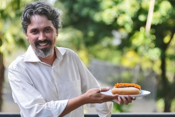 Iuri Crema, sócio do Über Dog: cachorro-quente sai das ruas e invade restaurantes da cidade (Breno Fortes/CB/D.A Press)