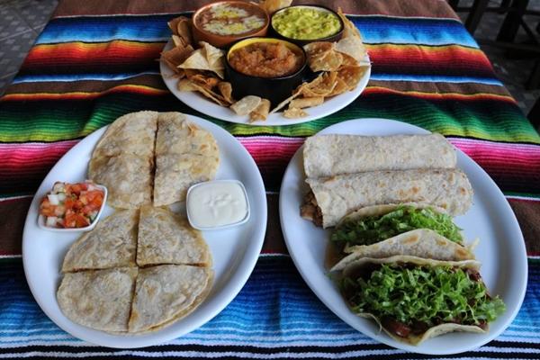 Rodízio de tacos, burritos e quesadillas do Pancho Villa, na 109 Norte  (Carlos Moura/CB/D.A Press)