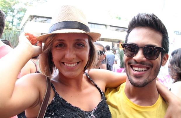 Clarisse Johansson e Paulo Victor Gandra (Lula Lopes/Esp. CB/D.A Press)