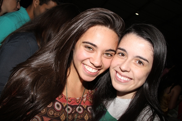 Barbara Rezende e Rafaela Dantas (Lula Lopes/CB/D.A Press)