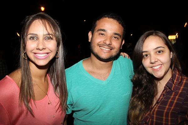 Samara Freire, João Felipe Sousa e Dandara Yannae  (Lula Lopes/CB/D.A Press)