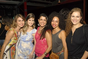 Luciana, Marília, Ana, Isabella e Thaíse (Gustavo Messina/Esp. CB/D.A Press)