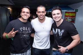 Vinicius Bueno, Paulo Franco e Giancarlo (Rômulo Juracy/Divulgação)