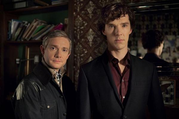 Seriado mostra Watson e Sherlock Holmes em um mundo tecnológico   (Divulgação/BBC)