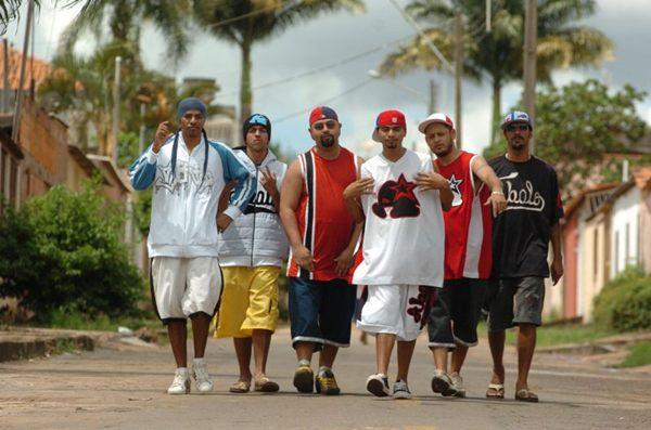 Grupo de Rap Tribo da Periferia (Carlos Vieira/CB/D.A Press)