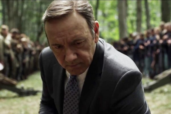 Kevin Spacey vive protagonista da trama (Netflix/Divulgação)