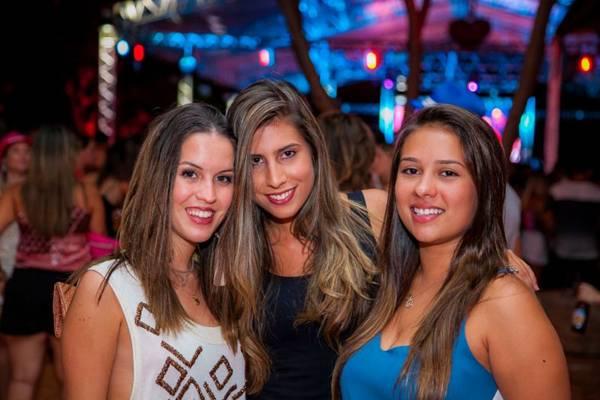Letícia Gomide, Júlia Chauvet e Camila Monteiro  (Felipe Menezes/CB/Divulgação/D.A Press )