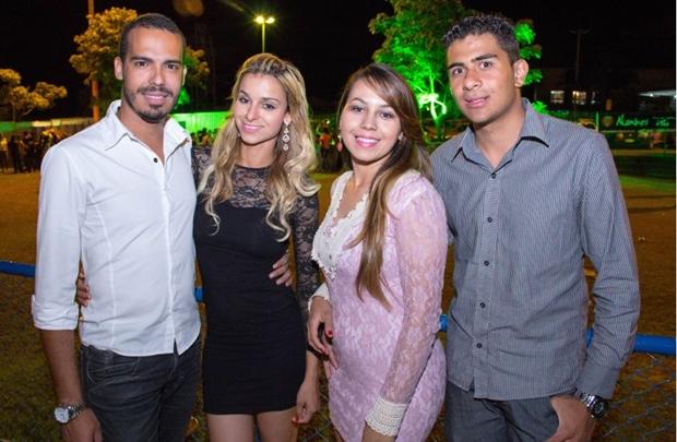Cristian Roberto, Sirlene Batista, Graciene Silva e Daniel dos Santos (Rômulo Juracy/Divulgação)
