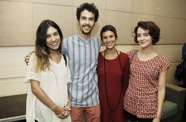 Rafaella Rezende, Pedro Moura, Polly Di e Ayala Gresta (Gustavo Messina/Esp. CB/D.A Press)