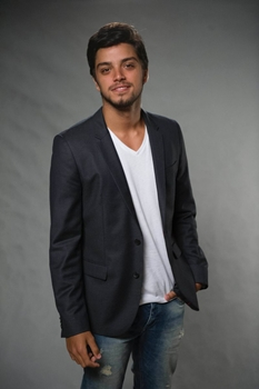 Ator Rdrigo Simas, o Marlon de Além do Horizonte  (Estevam Avellar/TV Globo)