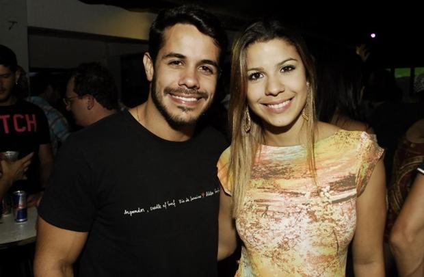 Diego Boaventura e Evelyn Van Der Brooks (Gustavo Messina/Esp. CB/D.A Press)