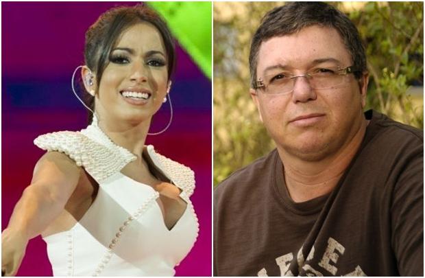 Anitta e Boninho: cantora teria negado participação no 'BBB' (Marcio de Souza/TV Globo e Alex Carvalho/TV Globo)