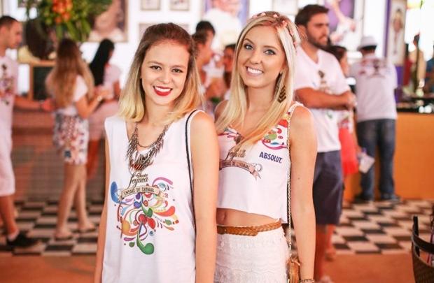 Gabriela Horbylon e Rebecca Ferreira  (Matheus Brito/Divulgação)