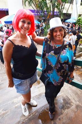 Suzana Flora e Ivanilda Souza (Ed Alves/CB/D.A Press)