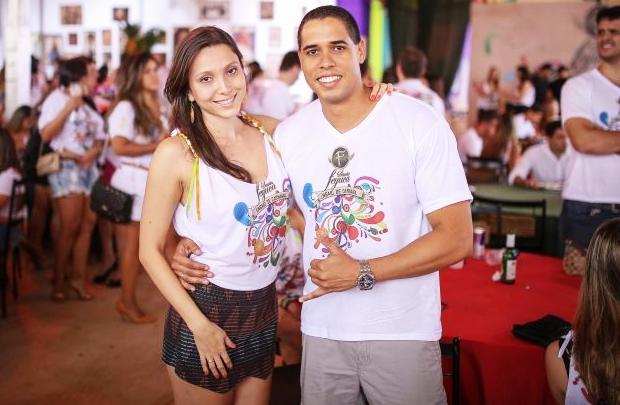 Gabriela Diniz e Marcelo Rocha (Matheus Brito/Divulgação)