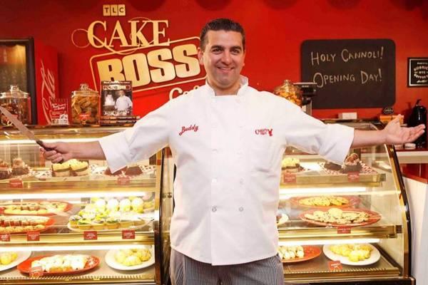 Buddy Valastro é o astro dos reality shows Cake boss e Batalha de confeiteiros (TLC/Divulgação)