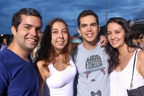 Thiago Leal, Ana Emilia Cullen, Daniel Linder e Alessandra Bijos (Rodrigo Resende/Divulgação)