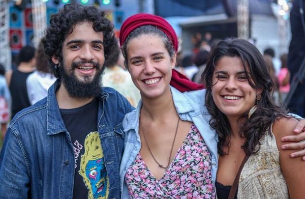 Ely Janoville, Marina Campos e Mariana Nardi (Rodrigo Resende/Divulgação)