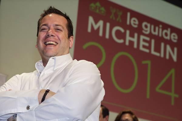 Chef Arnaud Lallement (Philippe Wojazer/Reuters)